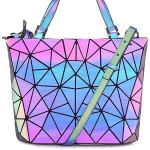 Handbags - NWT Holographic Purse